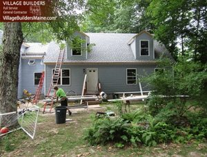 Home Remodeling Project Gorham Maine
